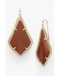 Kendra Scott | Metallic Alex Drop Earrings | Lyst