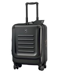 Victorinox - Black Victorinox Swiss Army 'spectra 2.0' Dual Access Global Hard Sided Rolling Carry-on for Men - Lyst