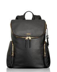 Tumi - Black Voyageur Lexa Leather Backpack - Lyst