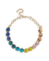 BaubleBar - Blue Cathandra Statement Necklace - Lyst