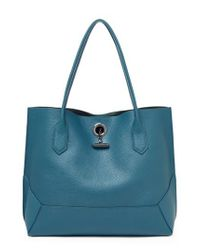 Botkier - Blue Waverly Leather Tote - Lyst