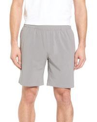 Peter Millar - Gray Oslo Sport Shorts for Men - Lyst