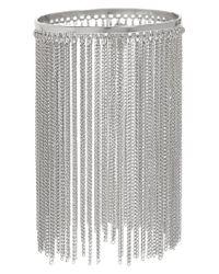 Natasha Couture - Metallic Chain Fringe Bracelet - Lyst