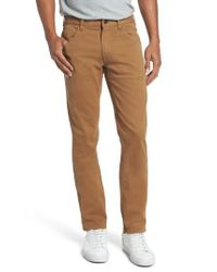 Bonobos - Brown Bedford Carpenter Slim Fit Pants for Men - Lyst