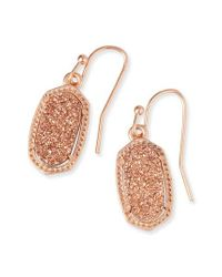 Kendra Scott - Metallic Lee Small Drop Earrings - Lyst