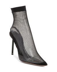 Alexander Wang Black Caden Pointy Toe Sock Pump