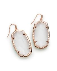 Kendra Scott - Metallic Ella Drop Earrings - Lyst