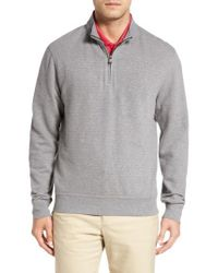 Cutter & Buck - Gray 'gleann' Quarter Zip Pullover for Men - Lyst