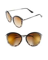 BP. - Brown 54mm Round Sunglasses - - Lyst