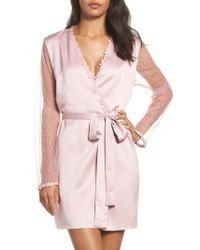 Flora Nikrooz | Pink Showstopper Robe | Lyst