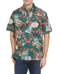 Reyn Spooner | Green Hawaiian Christmas 2017 Sport Shirt for Men | Lyst