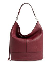 Rebecca Minkoff - Red Large Star Gazer Hobo - Lyst
