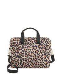 Kate Spade - Multicolor Leopard Commuter Bag - Lyst