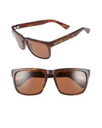 Electric - Brown 'knoxville' 56mm Sunglasses - Lyst
