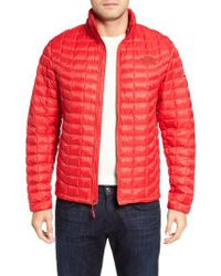 The North Face - Red International Collection Thermoball Primaloft Jacket for Men - Lyst