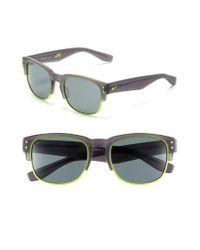 Nike - Gray Volition 54mm Sunglasses - Lyst