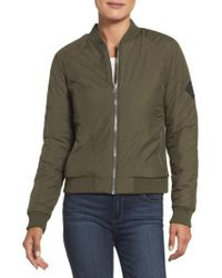 The North Face   Green 'rydell' Water Resistant Heatseeker(tm) Insulated Bomber Jacket   Lyst