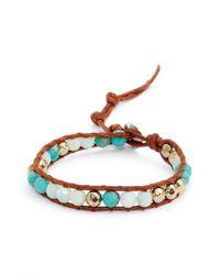 Chan Luu - Multicolor Mixed Semiprecious Stone Bracelet - Lyst