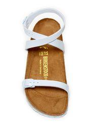 Birkenstock - Blue Daloa Classic Footbed Sandal - Lyst