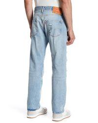 "Levi's - Blue 501 Original Fit Jean - 29-36"" Inseam for Men - Lyst"