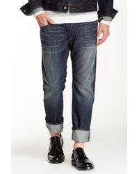 DIESEL - Blue Darron Slim Straight Leg Jean for Men - Lyst