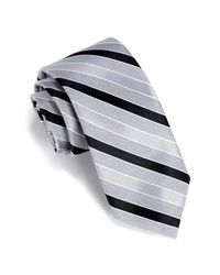 Perry Ellis - Black Ramadal Stripe Tie for Men - Lyst