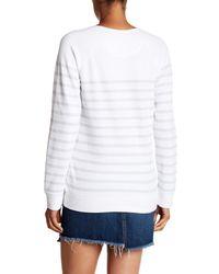 Tommy Bahama - White Aruba Cassava Stripe Crew Neck Sweater - Lyst