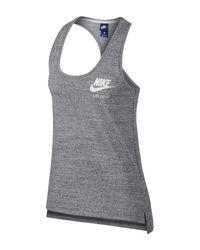 Nike - Gray Gym Vintage Tank - Lyst