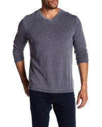 Robert Barakett - Blue Jordan V-neck Pullover for Men - Lyst