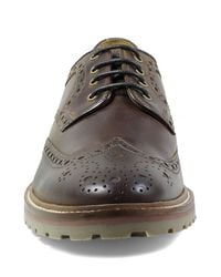 Florsheim - Brown Estabrook Wingtip (men) for Men - Lyst