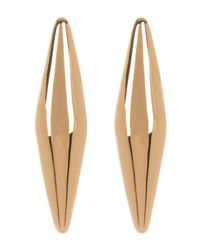 Vince Camuto - Metallic Tapered Bar Stud Earrings - Lyst
