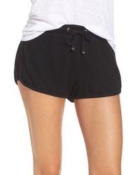 Make + Model - Black Bring It On Lounge Shorts - Lyst