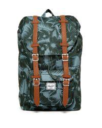 458718a6b7 Lyst - Herschel Supply Co. Little America Backpack in Green