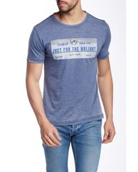 Spenglish - Blue Just For The Halibut Tee for Men - Lyst