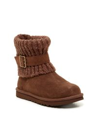 UGG - Brown Cambridge Knit Uggpure Lined Boot - Lyst
