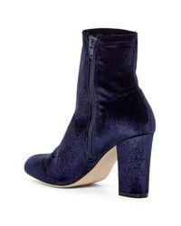 Madden Girl - Blue Fantaysa Velvet Boot - Lyst