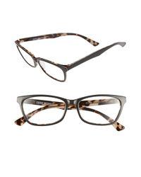 Corinne Mccormack - Gray Juliet Acetate Grey Reading Glasses - 2.00 - Lyst