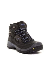 Keen | Black Logan Mid Waterproof Boot for Men | Lyst