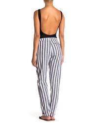 Onia - Multicolor Ella Linen Blend Pants - Lyst