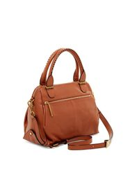 Elliott Lucca | Brown Metro Leather Satchel | Lyst