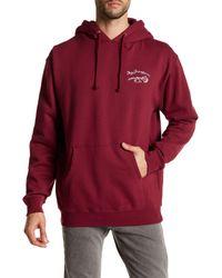 Obey | Red Blood Rose Sweatshirt for Men | Lyst