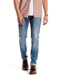 Nudie Jeans | Blue Average Joe Straight-leg Denim Jeans for Men | Lyst