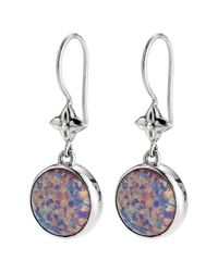 Lori Bonn - Purple True Colors Sterling Silver On Cloud Nine Earrings - Lyst