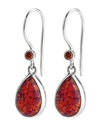 Lori Bonn | Pink True Colors Sterling Silver Hot Stuff Earrings | Lyst