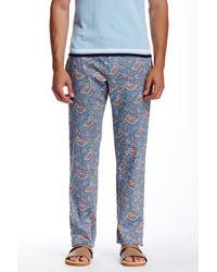 Parke & Ronen | Blue Paisley Print Trouser for Men | Lyst