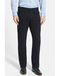 AG Jeans | Black Graduate Tailored Leg Pant for Men | Lyst