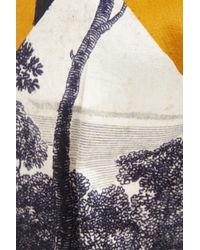 Dries Van Noten - Multicolor Print Satin Straight Leg Pants - Lyst