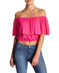 Clayton - Pink Molly Popover Shirt - Lyst
