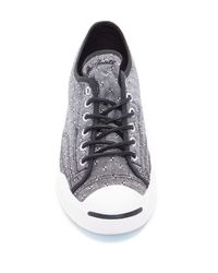 Converse - Black Spotted Oxford Sneaker (unisex) - Lyst