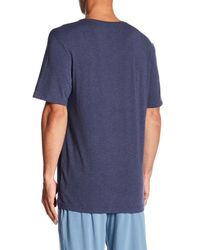 Joe's Jeans - Blue Marine Layer V-neck Tee for Men - Lyst
